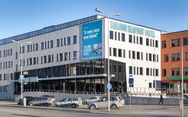 Отель Hestia Hotel Seaport Эстония, Таллин - - забронировать отель Hestia Hotel Seaport, цены и фото номеров вид на фасад