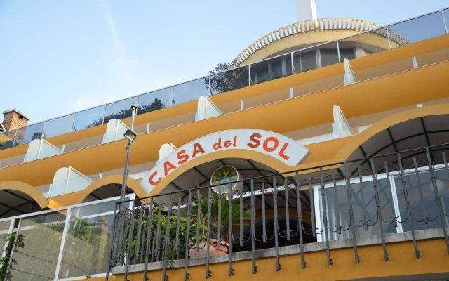 Hotel Casa del Sol Пуэрто-де-ла-Круc вид на фасад