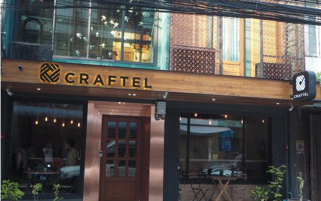 Craftel Bangkok Hostel Бангкок вид на фасад