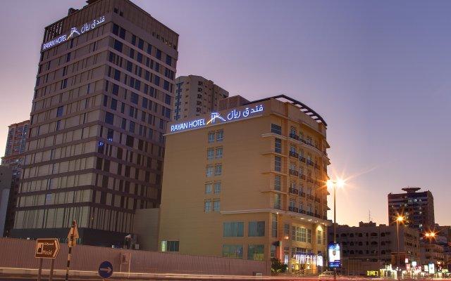 Rayan Hotel Sharjah вид на фасад