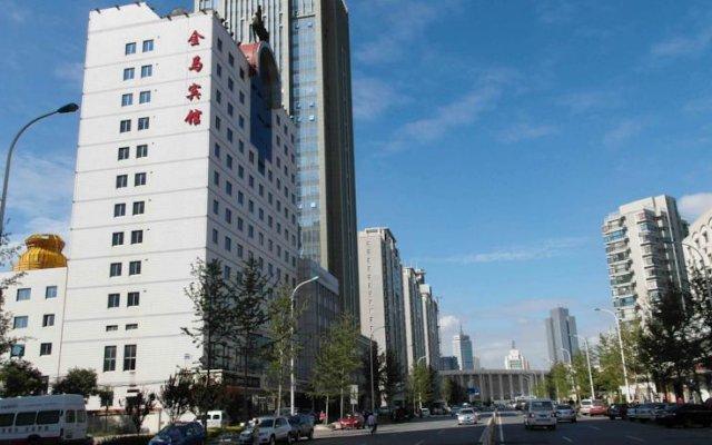 Tianjin Inner Mongolia Jinma Hotel вид на фасад