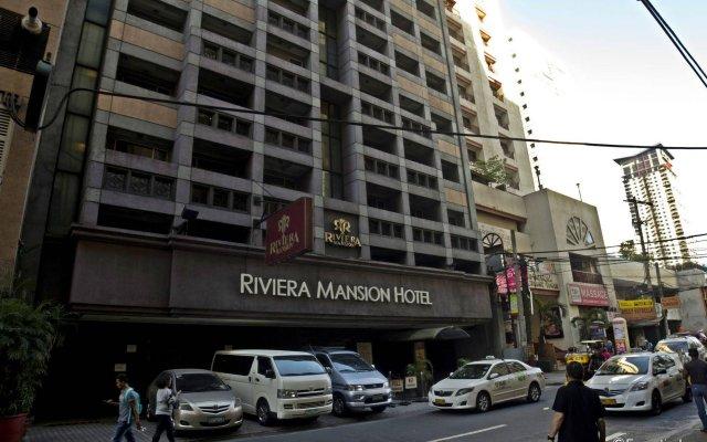 Отель Riviera Mansion Hotel Филиппины, Манила - отзывы, цены и фото номеров - забронировать отель Riviera Mansion Hotel онлайн вид на фасад