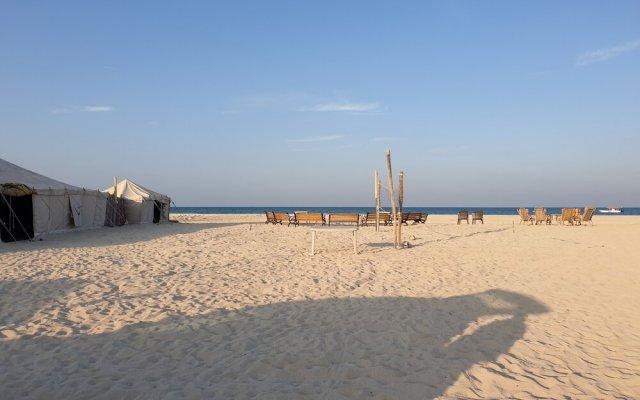 Qatar Desert Beach Camp