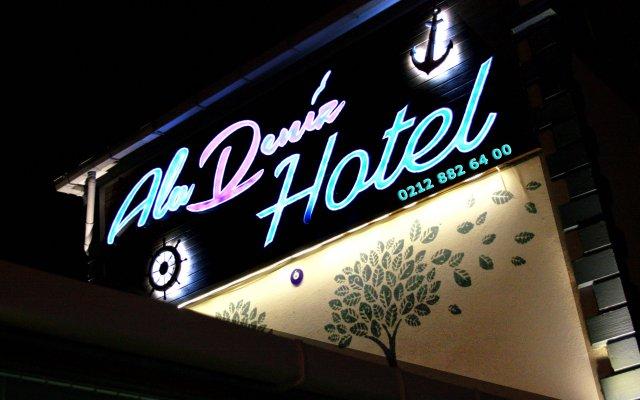 AlaDeniz Hotel Турция, Бююкчекмедже - отзывы, цены и фото номеров - забронировать отель AlaDeniz Hotel онлайн вид на фасад