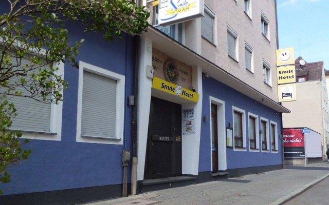 Smile Hotel вид на фасад