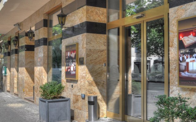 Hotel Europa City вид на фасад