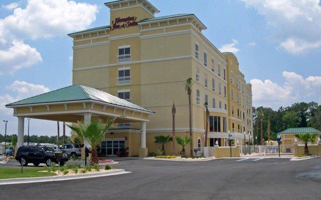 Отель Hampton Inn & Suites Lake City, Fl Лейк-Сити вид на фасад