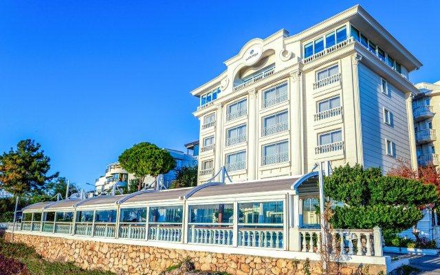 La Boutique Hotel Antalya-Adults Only Турция, Анталья - 10 отзывов об отеле, цены и фото номеров - забронировать отель La Boutique Hotel Antalya-Adults Only онлайн вид на фасад