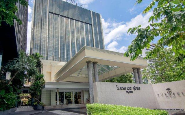 Отель The Sukosol Бангкок вид на фасад