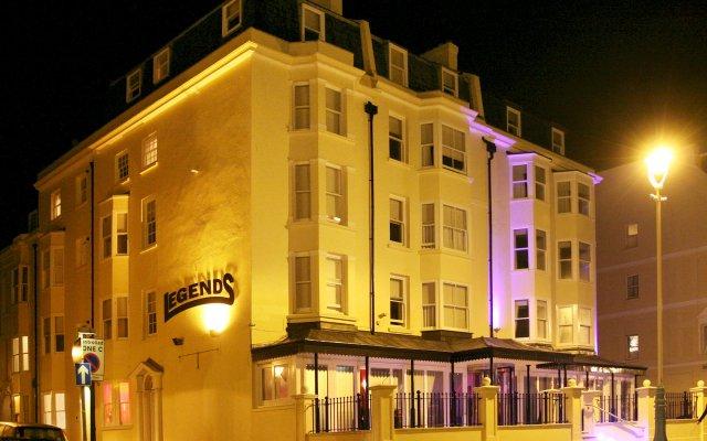 Отель Legends Hotel Великобритания, Кемптаун - отзывы, цены и фото номеров - забронировать отель Legends Hotel онлайн вид на фасад