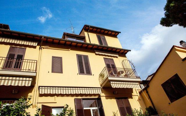 Hotel Villa Il Castagno вид на фасад
