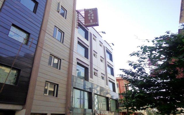 Отель Sohi Residency вид на фасад