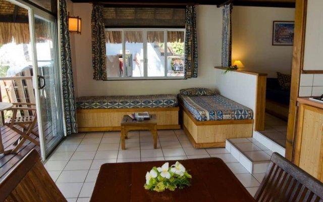 Отель Les Tipaniers Французская Полинезия, Муреа - отзывы, цены и фото номеров - забронировать отель Les Tipaniers онлайн вид на фасад