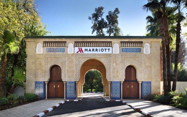 Fes Marriott Hotel Jnan Palace вид на фасад
