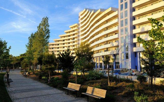 Отель Oceano Atlantico Apartamentos Turisticos Португалия, Портимао - отзывы, цены и фото номеров - забронировать отель Oceano Atlantico Apartamentos Turisticos онлайн вид на фасад