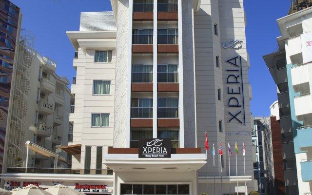 Xperia Saray Beach Hotel Турция, Аланья - 10 отзывов об отеле, цены и фото номеров - забронировать отель Xperia Saray Beach Hotel онлайн вид на фасад