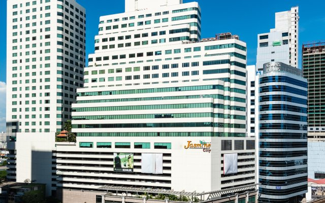 Отель Jasmine City вид на фасад