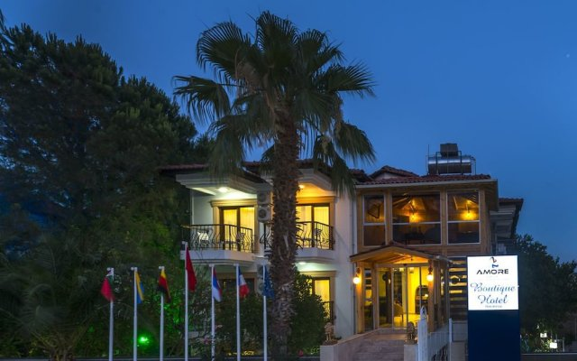 Amore Hotel вид на фасад
