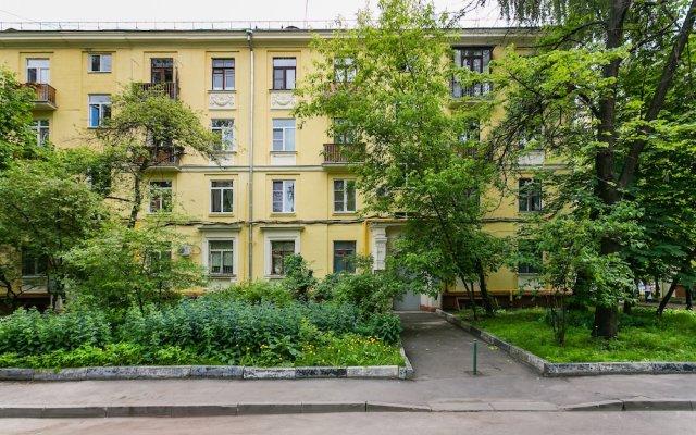 Отель ApartLux Begovaya Suite Москва вид на фасад
