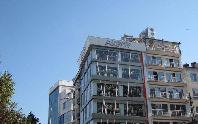 Отель Otel Topcuoglu вид на фасад