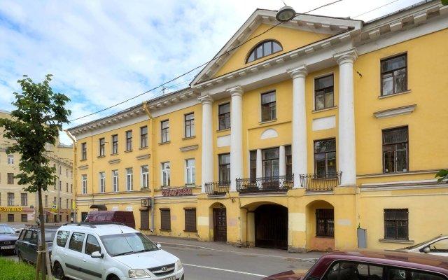Мини-Отель Ария на Римского-Корсакова вид на фасад