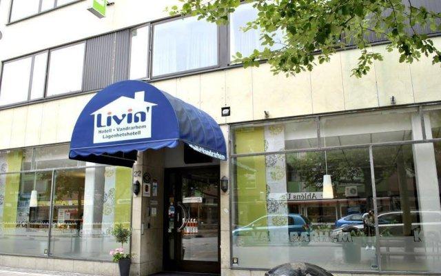 Отель STF Livin Hotel - Sweden Hotels Швеция, Эребру - отзывы, цены и фото номеров - забронировать отель STF Livin Hotel - Sweden Hotels онлайн вид на фасад
