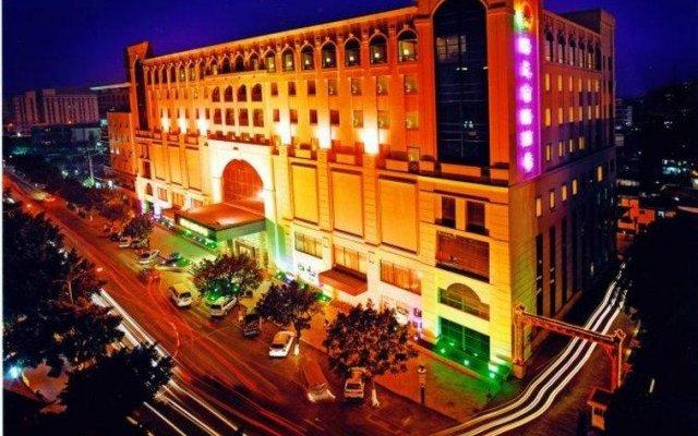 Отель Zhongshan Sunshine Business Hotel Китай, Чжуншань - отзывы, цены и фото номеров - забронировать отель Zhongshan Sunshine Business Hotel онлайн вид на фасад