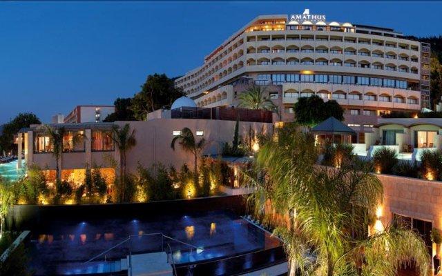 Amathus Beach Hotel Rhodes вид на фасад
