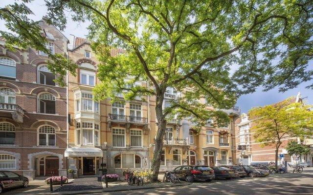 Отель Bilderberg Jan Luyken Amsterdam Амстердам вид на фасад