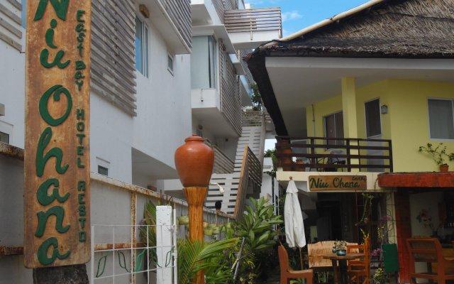 Отель Niu Ohana East Bay Apartment Филиппины, остров Боракай - отзывы, цены и фото номеров - забронировать отель Niu Ohana East Bay Apartment онлайн вид на фасад