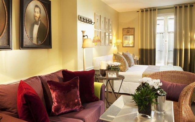 Отель Hôtel Sainte-Beuve комната для гостей