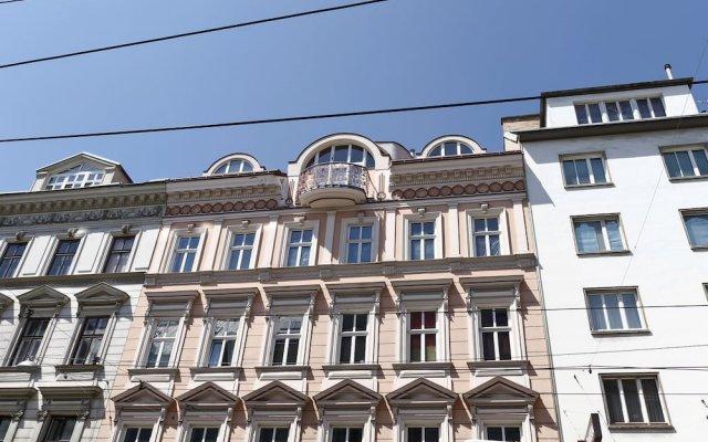 Апартаменты Leuhusen Nuss Apartments Вена вид на фасад