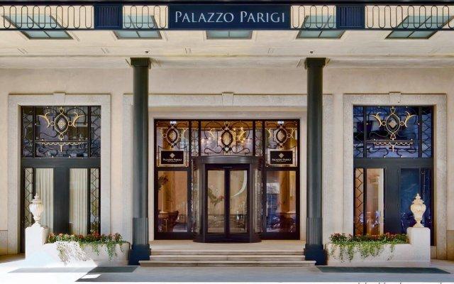 Palazzo Parigi Hotel & Grand Spa Milano вид на фасад