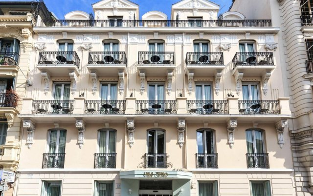 Отель Villa Otero вид на фасад