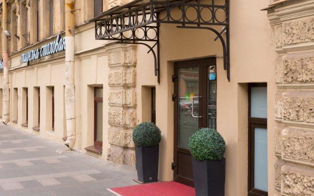 Гостиница Станция М19 (СПБ) вид на фасад