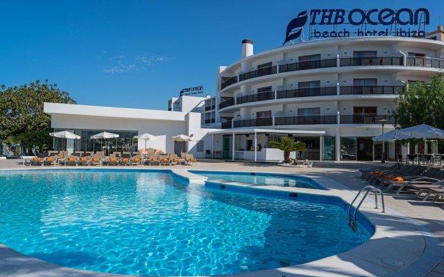 Отель THB Ocean Beach вид на фасад