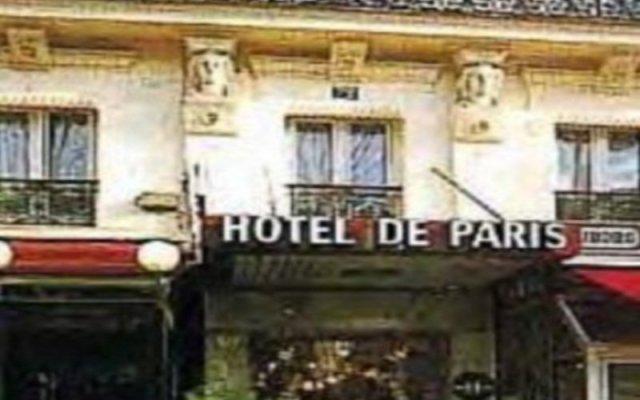Отель Grand Hôtel De Paris вид на фасад