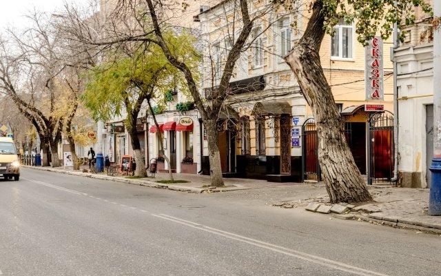 Мини-отель Сказка вид на фасад