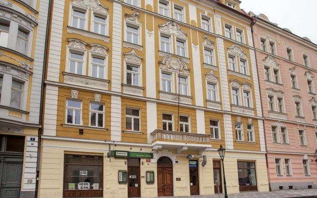 Апартаменты Downtown Apartments Prague вид на фасад