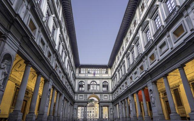 Отель Colori Флоренция вид на фасад