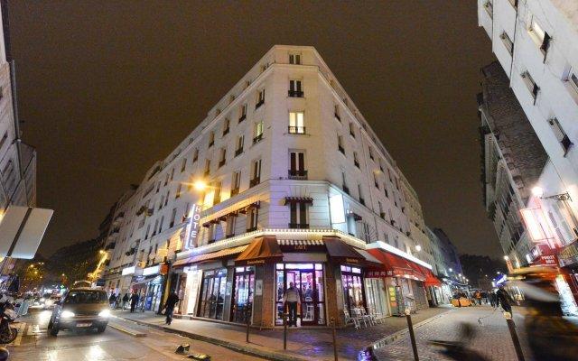 Hotel De La Poste вид на фасад