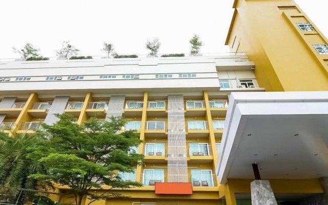 Отель Nida Rooms North Pattaya Crystal Sand вид на фасад