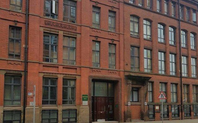 Отель Bright, Spacious 2BR Central Manchester Flat for 4 вид на фасад
