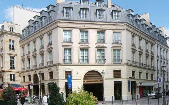 Residhome Appart Hotel Paris-Opéra вид на фасад