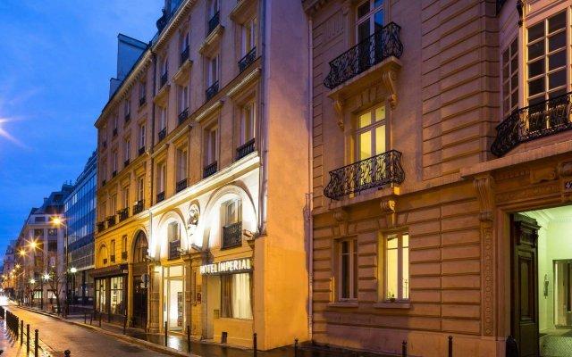 Отель Imperial Paris Париж вид на фасад