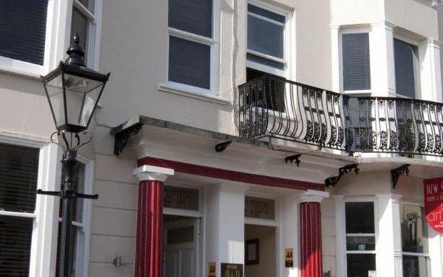 Отель New Steine Hotel - B&B Великобритания, Кемптаун - отзывы, цены и фото номеров - забронировать отель New Steine Hotel - B&B онлайн вид на фасад
