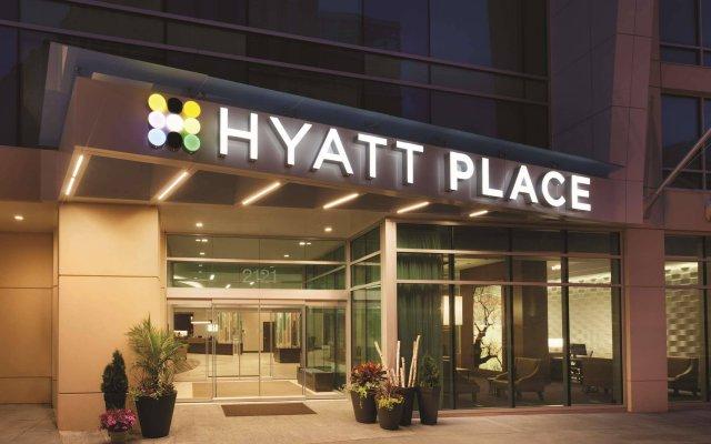 Отель Hyatt Place Washington DC/Georgetown/West End вид на фасад