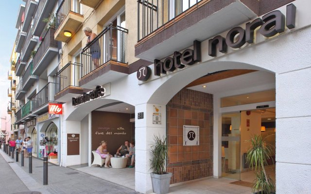 Отель Norai Испания, Льорет-де-Мар - 1 отзыв об отеле, цены и фото номеров - забронировать отель Norai онлайн вид на фасад