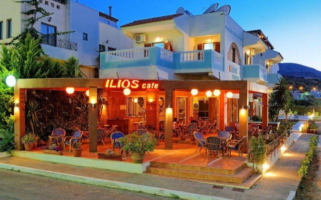 Отель Ilios Studios Stalis вид на фасад