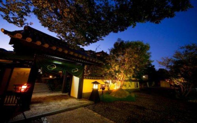 Отель Nagominoyado Mutsuki Беппу вид на фасад